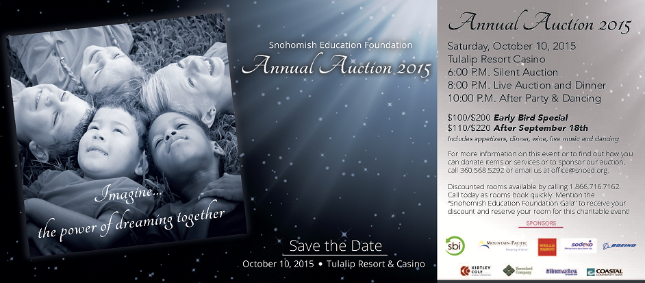 SEF Auction Save the Date
