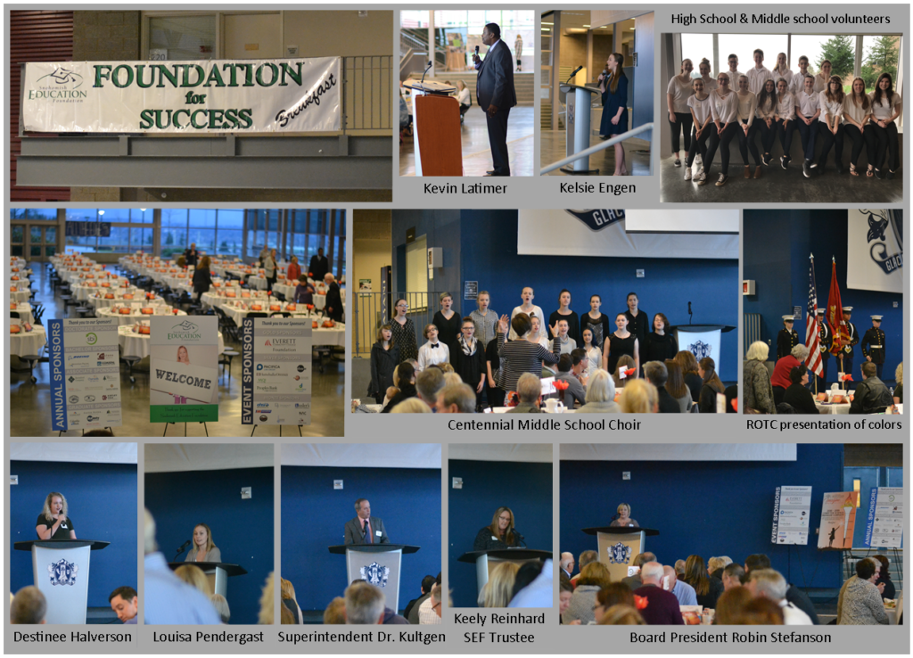 2017 Annual SEF Breakfast - Snohomish Education Foundation