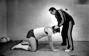 Gilb with Curt Marsh